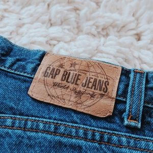 Vintage Classic Fit Gap Ankle Length Mom Jeans